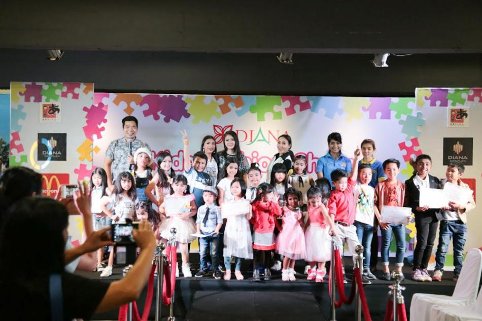 ชมภาพ Diana Kids Fashion Show