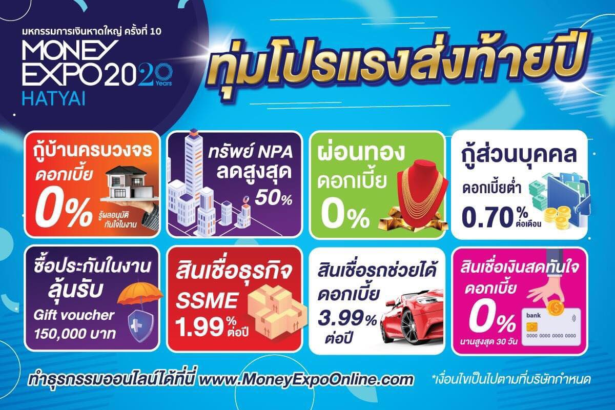 Money Expo Hatyai 2020
